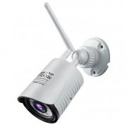 Camera inteligenta Qsmart Bullet 2MP Full HD, 4X Zoom, Night Vision 25m, 6 LED IR de putere mare, aplicatie iOS/ Android
