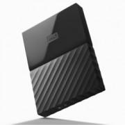 "4TB Western Digital MyPassport, външен, 2.5""(6.35cm), USB 3.0, черен"