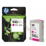 Мастило HP 940XL, Magenta, p/n C4908AE - Оригинален HP консуматив - касета с мастило
