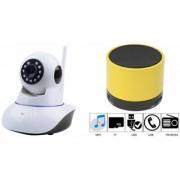 Zemini Wifi CCTV Camera and S10 Bluetooth Speaker for LG OPTIMUS L3 II DUAL(Wifi CCTV Camera with night vision |S10 Bluetooth Speaker)