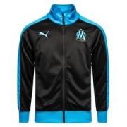 Marseille Track Top T7 Fan - Zwart/Blauw