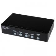 StarTech 4-poort Hoge-Resolutie USB DVI Dual-Link KVM-switch met Audio