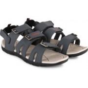 Newport Men Grey/White Sports Sandals