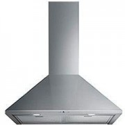 Smeg 90cm Wall Mounted Extractor, Stainless Steel - KSA900HX - 60cm
