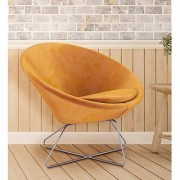 Konic Tub Lounge Chair in Yellow Colour by AZAZO