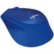 LOGITECH M330 Silent Plus Wireless plavi miš
