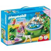 Playmobil 4008 Superset Fées Et Fontaine Enchantée - Coffret De Jeu Transportable