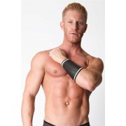 CellBlock 13 Sonic Cuffs Sleeve Band Black/White