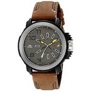 Fastrack Quartz Grey Round Men Watch 38015PL03
