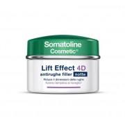 Somatoline Cosmetic Lift Effect 4d Crema Antirughe Filler Notte 50ml