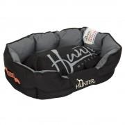 Cama Hunter Grimstad para cães - preto - Tamanho M: C 65 cm x L 40 cm x A 25 cm