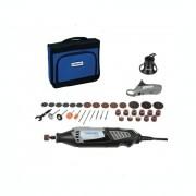 Unealta multifuncţională Dremel 4000-2/35, 175 W, 35.000 rpm, Viteza variabila, 35 de accesorii, Negru/Gri, F0134000UE