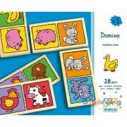 Domino játék Állatos - Djeco