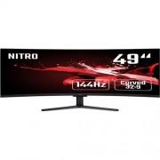 Monitor Acer Nitro EI491CRP - 49'', VA, 4K@144Hz, 4ms, 400cd/m2, 32:9, HDMI, DP, FreeSync, Repro