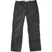 FjallRaven Kids Abisko Shade Trousers - Dark Grey - Travel Pants 122