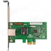Winyao WYI210T1 pci-e X1 servidor Gigabit adaptador de tarjeta de red con Intel I210T1 chipset - verde
