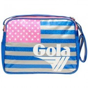 Borsa Gola Redford Glitter USA Blue/Pink/White