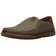 Clarks Men's Trapell Form Slip-On Loafer, Olive, 8.5 M US
