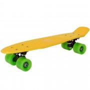 [pro.tec]®Мини скейтборд-57 x 15 x 12, Жълт/Зелен