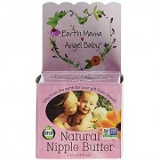 Earth Mama Angel Baby Natural Nipple Butter 2 oz Jars Pack of 3