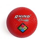 Champion Sports Playground Ball (Red, 8.5-Inch)