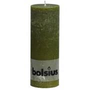 Bolsius Stompkaars Rustiek Olijfgroen 190/68 mm