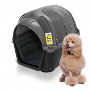 Casa Para Perro Gato Mascota Plast Pet Stone House No. 3 Gris