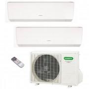 General Fujitsu Climatizzatore/Condizionatore Fujitsu General Dualsplit Parete AOHG14LAC2 + ASHG09LMCA + ASHG09LMCA