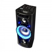 UltraSonic Pulse V6-40 Audiosystem Lautsprecher Akku BT USB MP3 AUX UKW Guitar LED Mikrofon