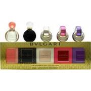 Bvlgari Women's Miniature Fragrance Presentset 5 Delar