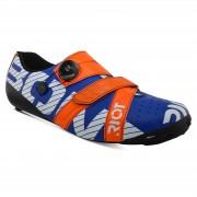 Bont Riot+ Road Shoes - EU 46 - Blue/Red