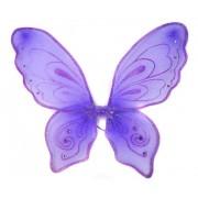 Приставные крылья Бабочки 57х49 см, фиолетовый