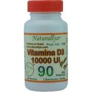 Vitamina D3 10,000 UI - 90 perlas