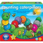 Jucarie educativa Orchard Toys Counting Caterpillars