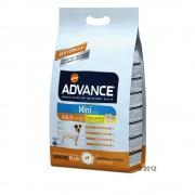 Advance Mini Adult frango e arroz - Pack económico: 2 x 7,5 kg