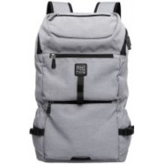 Kaka Fashion School Collage Office Travel Bag Comfortable for 15 Laptop Backpack(Grey)