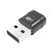 tiendatec MINI ANTENA WIFI USB NANO 802.11AC 600MBPS 2.4GHZ/5GHZ 2DBI MT7610U