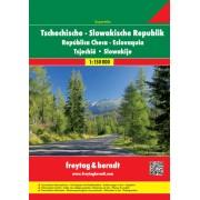 Wegenatlas - Atlas Superatlas Tsjechië en Slowakije   Freytag & Berndt
