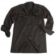 MIL-TEC®   Košile SERVIS dlouhý rukáv na knoflíky ČERNÁ vel.L