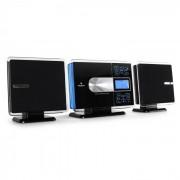 Auna VCP-191 USB-Stereoanlage MP3 CD SD AUX UKW Touch-Armatur FB schwarz