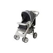 Carrinho De Bebê Galzerano Optimus - Preto/cinza