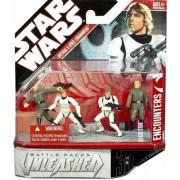 Star Wars Battle Pack Unleashed Imperial and Rebel Commanders