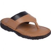 BB LAA Beige Men's Leather Flip-Flop