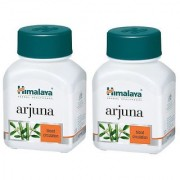 Himalya Arjuna (Pack of 2) - 60 tablets each