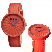 Crayo Cr1505 Pleats Unisex Watch