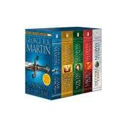 Box - A Game of Thrones Boxed Set: Song of Ice and Fire Series (5 Livros) Pocket