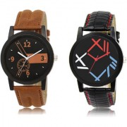The Shopoholic Black Brown Combo New Stylist Latest Black And Brown Dial Analog Watch For Boys Mens Watches