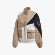 Adidas Track Top For Women In Brown - Size Wm