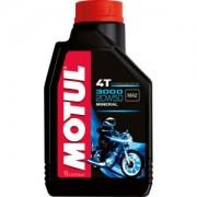 Motul Deutschland GmbH Motul 3000 4T 20W50 Motorenöl, Hochleistungsmotorenöl für Motorräder im normalen Alltagsgebrauch, 1000 ml - Kanister