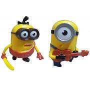BUCA Latest PVC Action Figure Model Toys Doll for Kids Gift (Pack of 2)